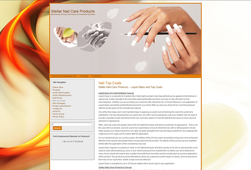 Stellar Nail Care Products